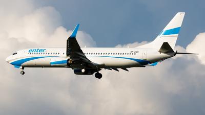 SP-ENU - Boeing 737-83N - Enter Air