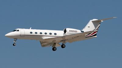 N426QS - Gulfstream G-IV(SP) - NetJets Aviation