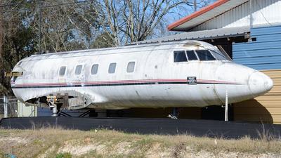 N116DD - Lockheed L-1329 JetStar II - Private