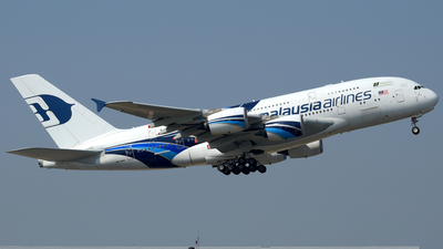 A picture of 9MMNA - Airbus A380841 - Malaysia Airlines - © Ahmad Sallehuddin A.Sahak