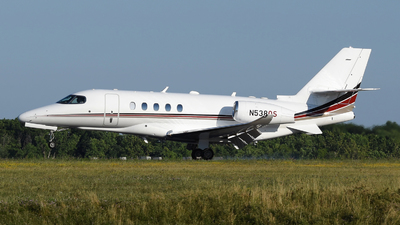 A picture of N538QS - Cessna 680A Citation Latitude - NetJets - © DJ Reed - OPShots Photo Team