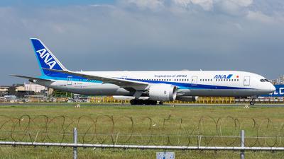 A picture of JA879A - Boeing 7879 Dreamliner - All Nippon Airways - © Nek Aberia - Philippine Aviators