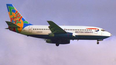 G-BGDR - Boeing 737-236(Adv) - British Airways