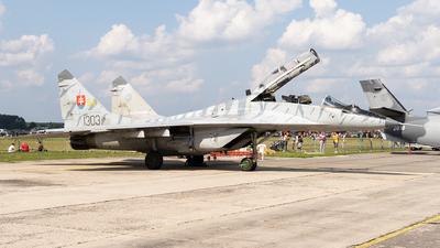 1303 - Mikoyan-Gurevich MiG-29UBS Fulcrum B - Slovakia - Air Force