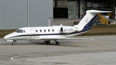 OY-JPJ - Cessna 650 Citation III - North Flying
