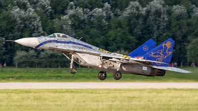 11 - Mikoyan-Gurevich MiG-29B Fulcrum - Hungary - Air Force