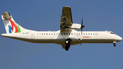 PK-PAH - ATR 72-212A(500) - Pelita Air