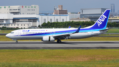 JA52AN - Boeing 737-881 - All Nippon Airways (ANA)