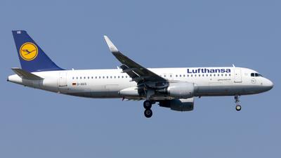 A picture of DAIUS - Airbus A320214 - Lufthansa - © Kris Van Craenenbroeck