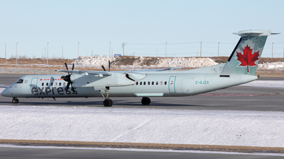C-GJZX - Bombardier Dash 8-Q402 - Air Canada Express (Jazz Aviation)