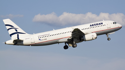 A picture of SXDGB - Airbus A320232 - Aegean Airlines - © Emil Zegnalek