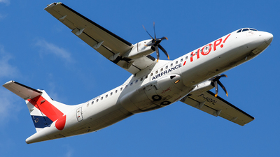 F-HOPL - ATR 72-212A(600) - HOP! for Air France