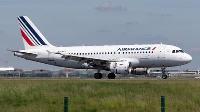 F-GRXJ - Airbus A319-115(LR) - Air France