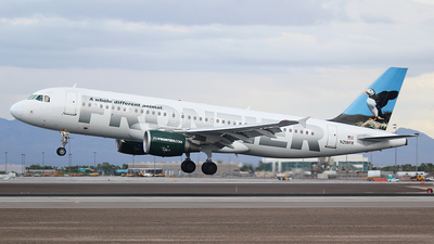 N218FR - Airbus A320-214 - Frontier Airlines