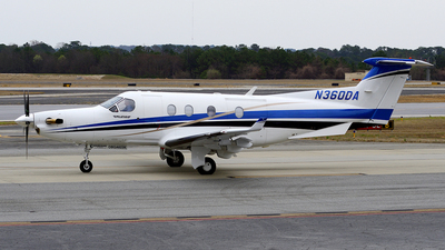 N360DA - Pilatus PC-12/45 - Private