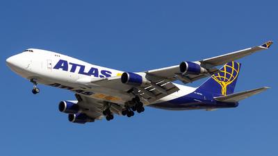 A picture of N487MC - Boeing 74745E(F) - Atlas Air - © Dotto