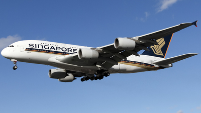 A picture of 9VSKR - Airbus A380841 - Singapore Airlines - © subing27