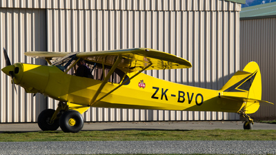 ZK-BVO - Piper PA-18-150 Super Cub - Private