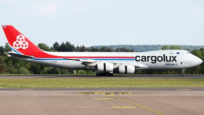 LX-VCH - Boeing 747-8R7F - Cargolux Airlines International