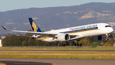 9V-SHN - Airbus A350-941 - Singapore Airlines