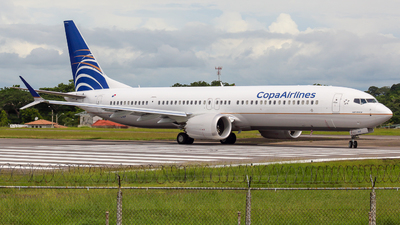 HP-9907CMP - Boeing 737-9 MAX - Copa Airlines