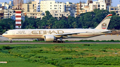 A picture of A6ETS - Boeing 7773FX(ER) - Etihad Airways - © Raihan Ahmed