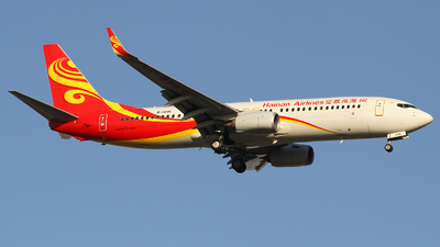 A picture of B1495 - Boeing 73784P - Hainan Airlines - © M.T