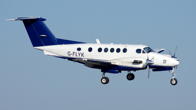A picture of GFLYK - Beech B200 Super King Air -  - © Arek Sieracki