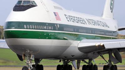 N487EV - Boeing 747-230B(SF) - Evergreen International Airlines