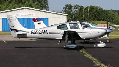 N552AM  - Cirrus SR22T-GTS - Private