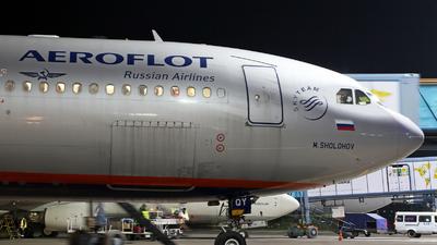 VQ-BQY - Airbus A330-343 - Aeroflot