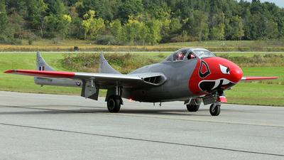 C-FJRH - De Havilland DH-115 Vampire - Private