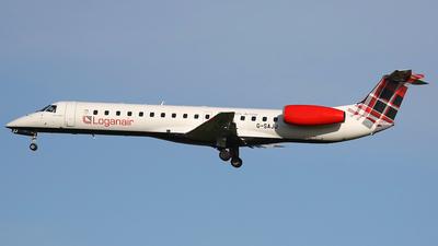 A picture of GSAJJ - Embraer ERJ145EP - Loganair - © Nigel Fenwick