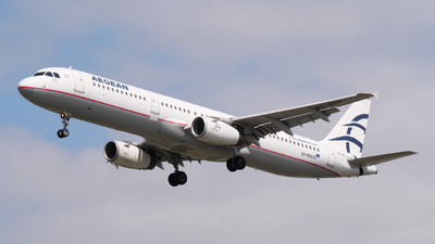A picture of SXDGQ - Airbus A321231 - Aegean Airlines - © Alex Meunier