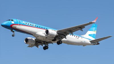 A picture of LVGAQ - Embraer E190AR - Aerolineas Argentinas - © Flavio García Photos