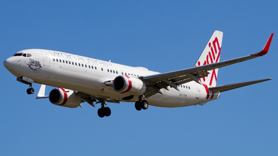 A picture of VHYFK - Boeing 7378FE - Virgin Australia - © Haozhe Peng