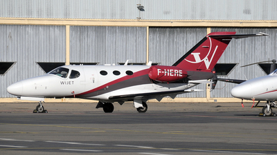 F-HERE - Cessna 510 Citation Mustang - Wijet