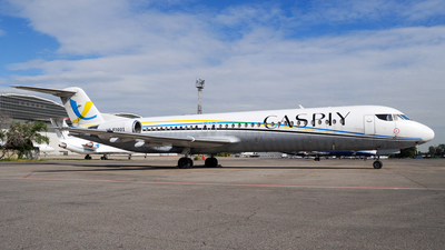 UP-F1001 - Fokker 100 - Caspiy