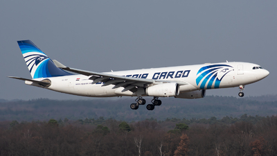 A picture of SUGCF - Airbus A330243(P2F) - EgyptAir Cargo - © Julian Maas