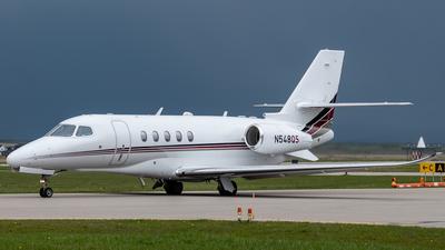 A picture of N548QS - Cessna 680A Citation Latitude - NetJets - © Aidan Osborne