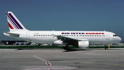 F-GJVC - Airbus A320-211 - Air Inter Europe