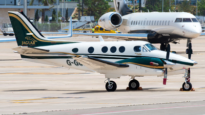 G-GULY - Beechcraft C90A King Air - Private