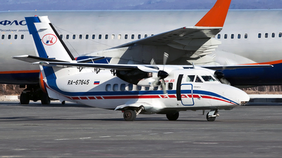 RA-67645 - Let L-410UVP Turbolet - Petropavlovsk-Kamchatskoe Aviation Enterprise