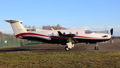 N412MD - Pilatus PC-12/45 - Private