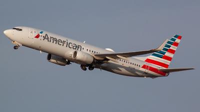 A picture of N830NN - Boeing 737823 - American Airlines - © Bryan Wu