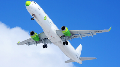 VQ-BDB - Airbus A321-231 - S7 Airlines
