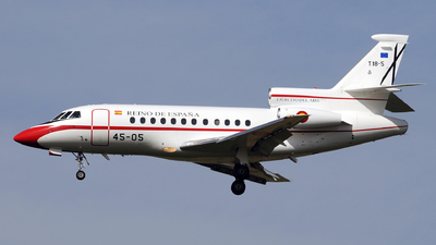 T.18-5 - Dassault Falcon 900B - Spain - Air Force