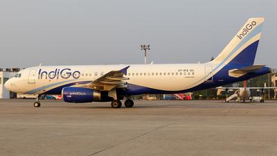 A picture of VTIFA - Airbus A320232 - IndiGo - © karib ahmed