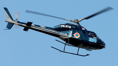 PK-RTM - Aérospatiale AS 355F1 Ecureuil 2 - BNPB - Indonesian National Board for Disaster Management