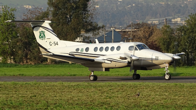C-54 - Beechcraft B200 Super King Air - Chile - Police